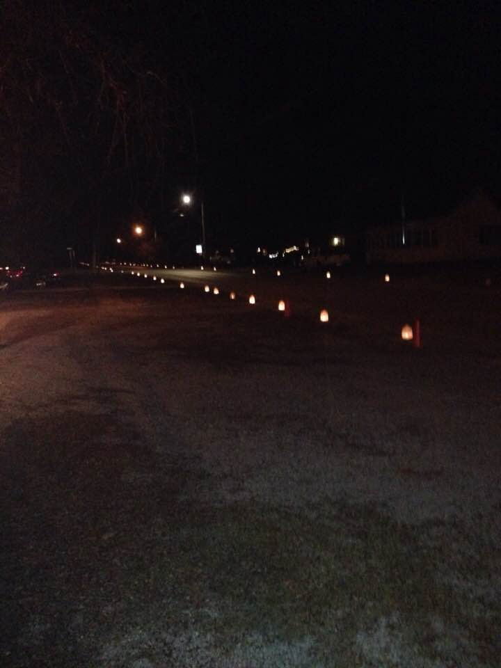 Luminaries light the path